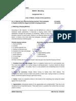 Solved SMU BBA  Semetser 1 Assignments of  Summer 2011