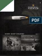 Federal Premium Catalog 2011