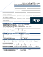 IEP Application Form