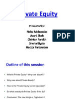 Private Equity Final