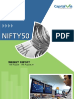 Nifty 50 Reports for the Week (16-20th August '11)