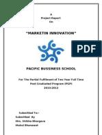 Marketing Innovation(Mukul Bhanawat)Pbs-e