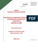 Evaluation Demande Elaboration Referentiel Emplois Competences TGR