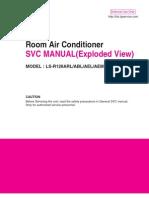 LG LSR120H Service Manual