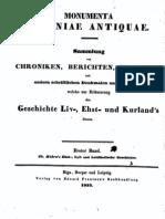Thomae Hiärn's Ehst-, Lyf- und Lettlaendische Geschichte