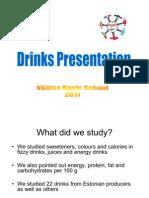 Drinks Presentation