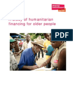 A Study of Humanitarian Financing for Older People.