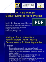 LESLIE Bourquin India Mango Project-Food Forum India 5-7-2008