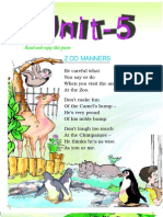 Class2 English Unit05 NCERT TextBook English Edition