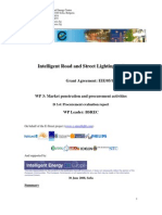 Intelligent Road and Street Lighting in Europe