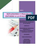Reflexiones y Prcaticas Entorno a La Evaluacion Modulo d