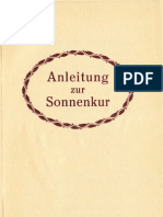 Neu-Salems-Schriften - Anleitung zur Sonnenkur