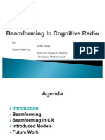Beam Forming in Cognitive Radio