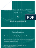 Modern Trends in Managing Quality