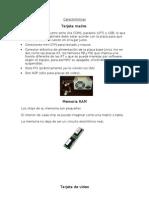 Características de una comutadora 1 E lilia alejandra