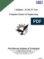 B.tech MDU Syllabus (CSE)
