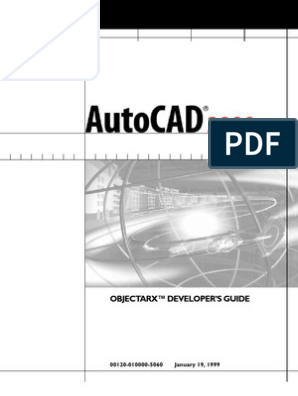 ObjectARX Developers Guide | Autodesk | Component Object Model