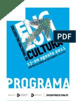 Encuentro Nacional Cultura