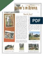 Africa Newsletter