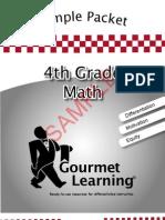 4thMathSamplePacket