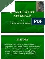 Quantitative Approach 1