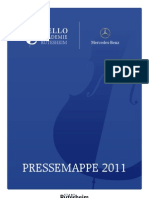 Pressemappe 2011 - Cello Akademie Rutesheim