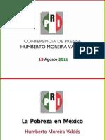 15.08.11.Presentación.Pobreza 2006-2010