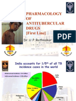 Pharmacotherapy of Tubeculosis- First line drugs