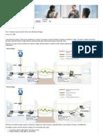 Configuring an Access Point as a Wireless Bridge