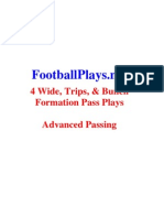 FootballPlays.net Spread, Trips, & Bunch