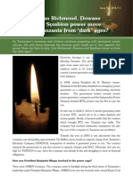 """Can Richmond, Dowans to Symbion power move Tanzania from """"dark"""" ages?"""