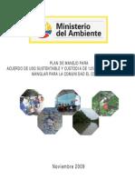 Plan de Manejo El Conchal CM