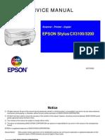 Epson Stylus Cx3100-3200