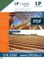 Madera OSB-vigas para construcción de techos y otros elementos