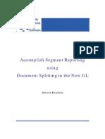 New GL Doc Splitting