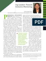 Diversity Journal   Guiding Leaders Toward Inclusive Mentoring - May/June 2011