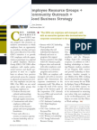 Diversity Journal | ERGs + Community Outreach = Good Business Strategy - May/June 2011