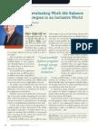 Diversity Journal | Re-evaluating Work/Life Balance Strategies - May/June 2011