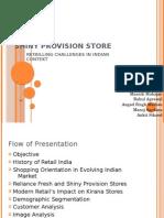 Shiny Provision Store