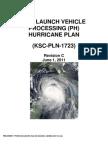 KSC-PLN-1723 2011 PH Hurricane Plan