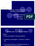 Advocacy Coalition Framework v Aula 1 2 VAZUL