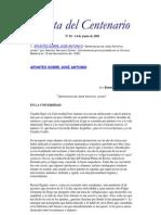 Gaceta del Centenario nº 02 - 14 de Junio de 2001