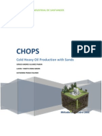 Cold Heavy Oil Production with Sands CHOPS