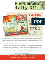 Balloons Over Broadway Activity Kit