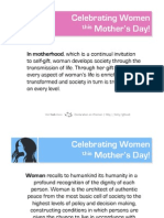 Celebrating Women on Mother's Day 2010