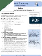 Drive Book Summary