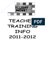Teacher Training Book 2011-2012