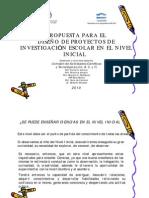 CoACyT Tucuman - 2010 - Jardines_en_Ferias - Propuesta Para El Disenio de Proyectos de Investigacion Escolar