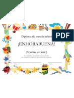 Diploma Primer Ciclo
