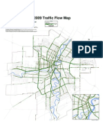 2009 Traffic Flow Map